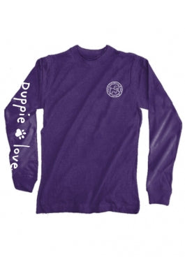 Love Puppies Pup Long Sleeve Tee By Puppie Love (Pre-Order 2-3 Weeks)