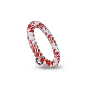 Teleties Candy Cane - Small Hair Tie Pack Of 3