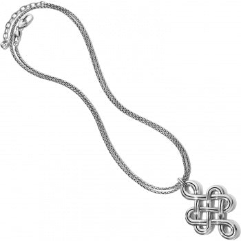 Interlok Endless Knot Convertible Necklace by Brighton