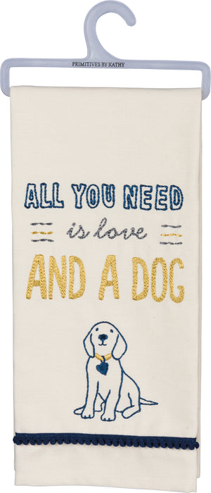 All You Need Is Love & A Dog Dish Towel