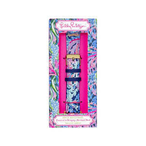 Lilly Pulitzer Apple Watch Band - Bringing Mermaid Back