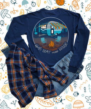 Southernology - Best Seat In the House Long Sleeve T-Shirt (Lead Time 2 Weeks)