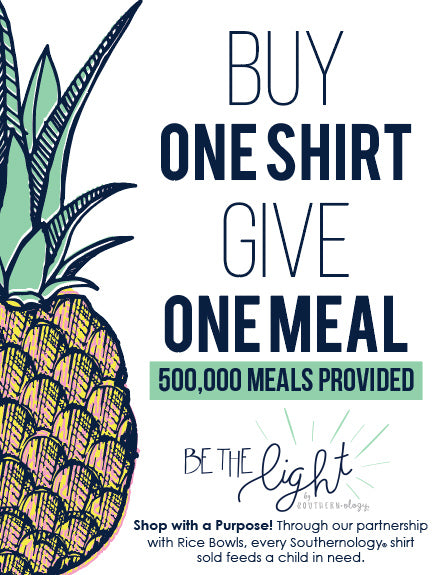 Every Southernology Shirt Provides A Meal For A Child