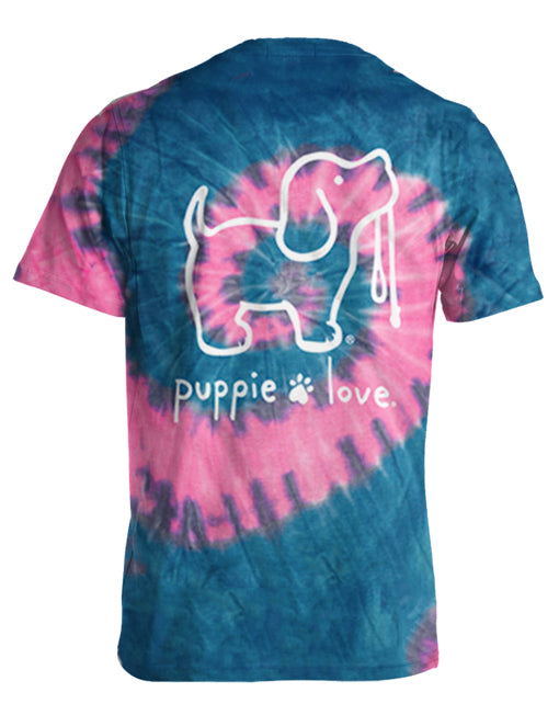 Bubble Gum Tie Dye Pup By Puppie Love (Pre-Order 2-3 Weeks)