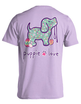 Easter Pattern Pup Tee By Puppie Love