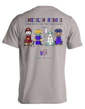 SALE- American Heroes Pup By Puppie Love