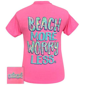 Beach More Tee By Girlie Girl Originals (Pre-Order 2-3 Weeks)