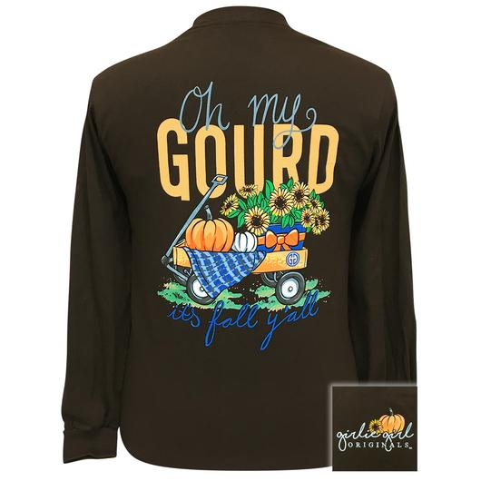 Oh My Gourd Long Sleeve Tee By Girlie Girl Originals
