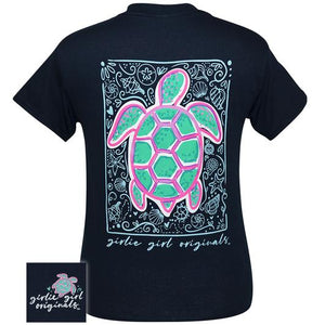 Sea Turtle Navy By Girlie Girl Originals (Pre-Order 2-3 Weeks)