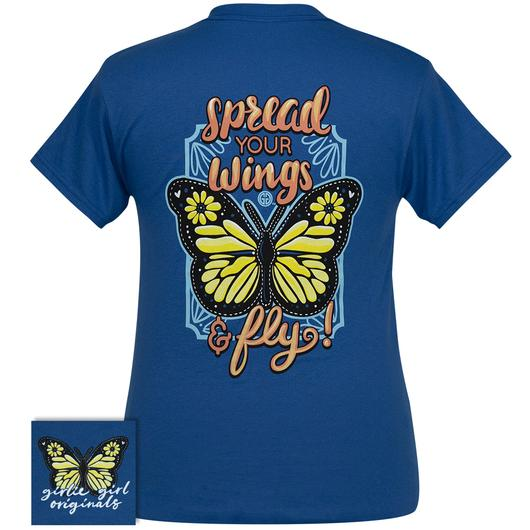 Spread Your Wings Tee By Girlie Girl Originals (Pre-Order 2-3 Weeks)