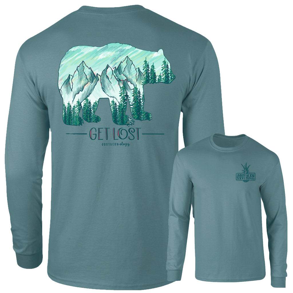 Southernology - Get Lost Long Sleeve T-Shirt (Lead Time 2 Weeks) - Supports Wildfire Relief Fund