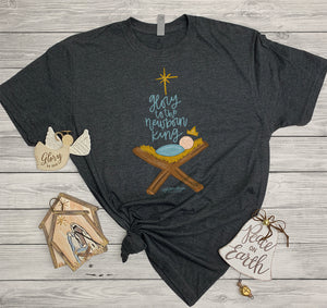 Southernology - Glory to the Newborn King Manger Tee (Lead Time 2 Weeks)
