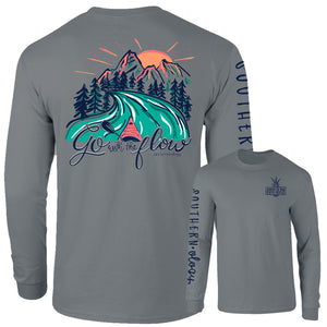 Southernology - Long Sleeve Go With the Flow (Lead Time 2 Weeks)