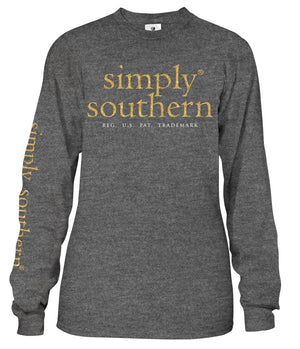 Santa Dog Believe Long Sleeve Tee by Simply Southern