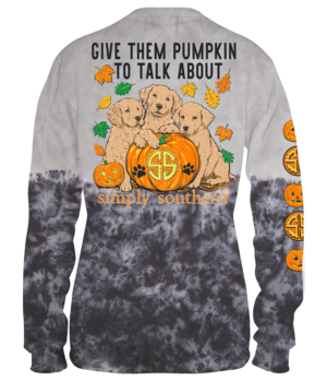 Pumpkin To Talk About Long Sleeve Tee by Simply Southern