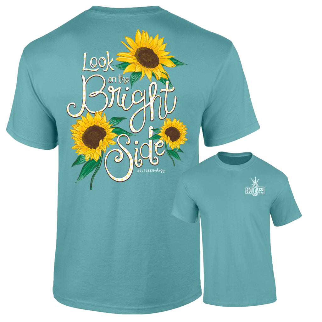 Southernology - Seafoam Look On the Bright Side T-Shirt (Lead Time 2 Weeks)