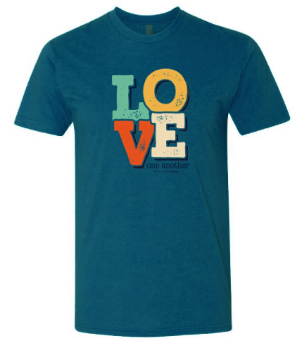 Southernology - Love One Another Front Statement Tee (Lead Time 2 Weeks)