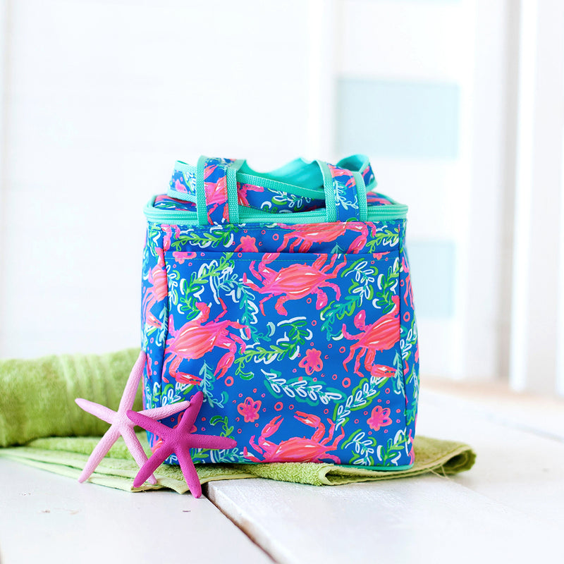 Sand Hopper Monogram Cooler Tote (Lead Time 2 Weeks)