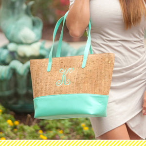 Mint & Cork Charlotte Monogram Purse (Lead Time Two Weeks)