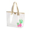 Pineapple Retreat Clear Tote (Lead Time 2 Weeks)