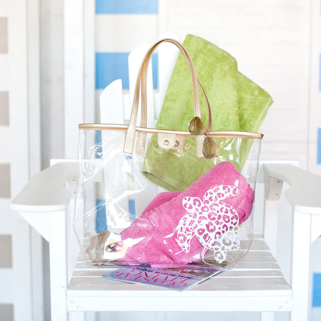 Turtle Retreat Clear Tote (Lead Time 2 Weeks)