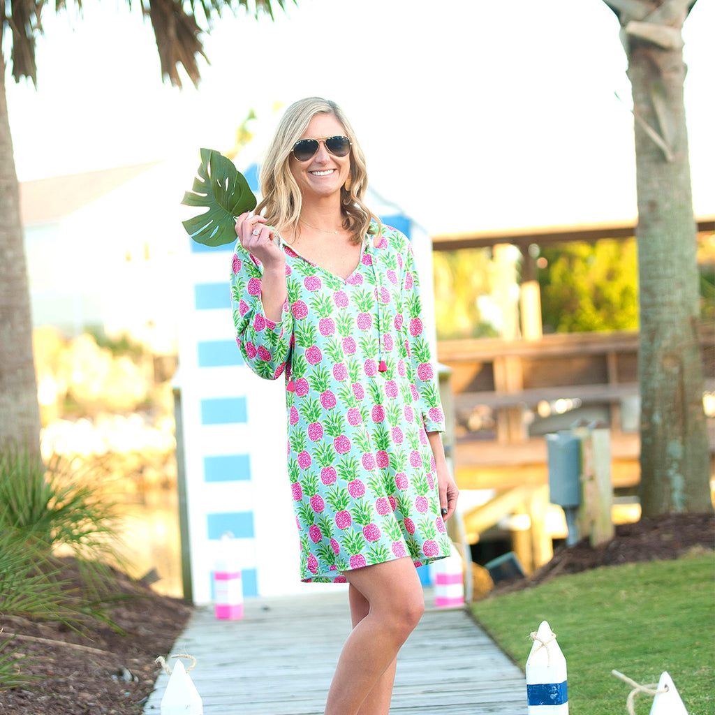Sweet Paradise Women's Monogram Tunic (Lead Time 2 Weeks)