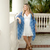 Sea Glass Eden Kimono (Lead Time 2 Weeks)