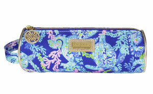 Lilly Pulitzer Pencil Pouch- Turtle Villa (Lead Time 2 Weeks)