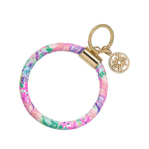 Lilly Pulitzer Round Keychain - It Was All A Dream