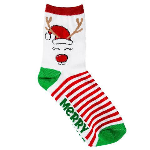 Merry Christmas Sock - Top It Off