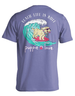 Beach Life Is Ruff Pup By Puppie Love (Pre-Order 2-3 Weeks)