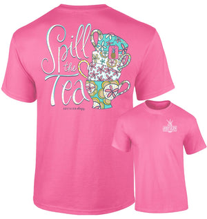 Southernology - Spill the Tea T-Shirt (Lead Time 2 Weeks)