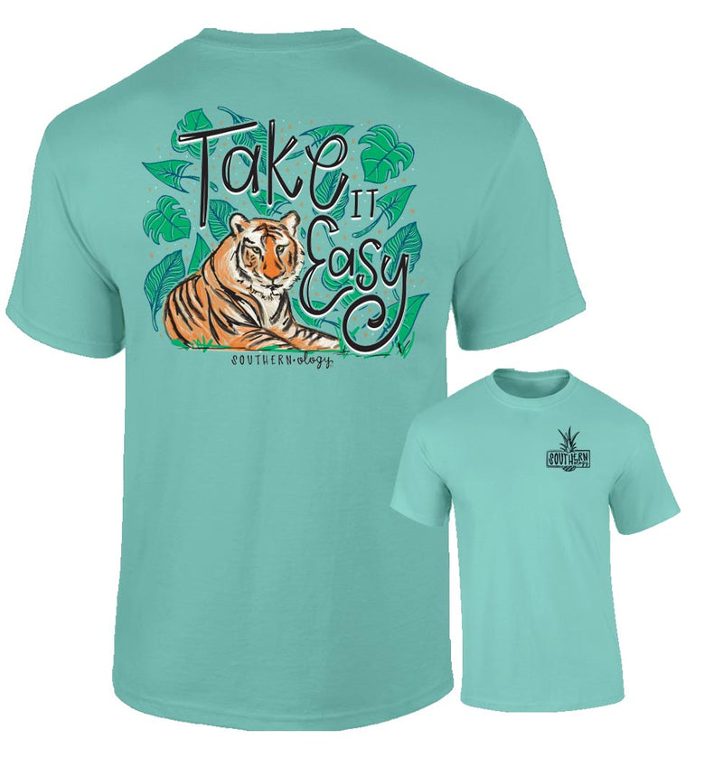 Southernology - Take it Easy Tiger T-Shirt (Lead Time 2 Weeks)