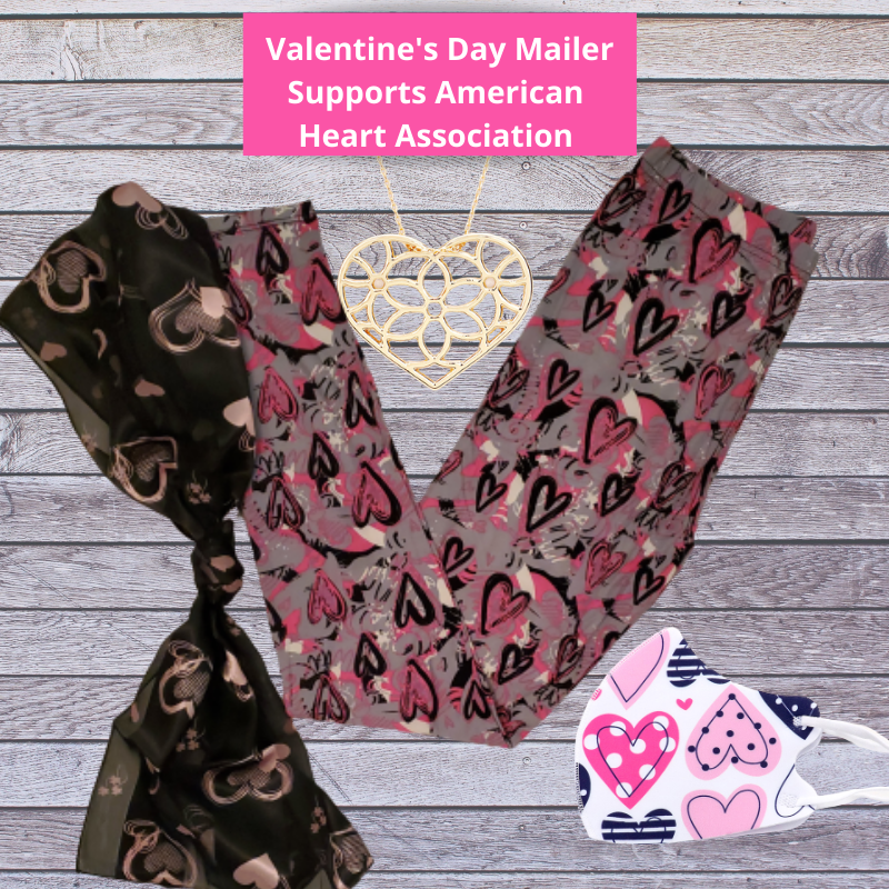 "Valentine's Day Mailer- Supporting ""American Heart Association"""