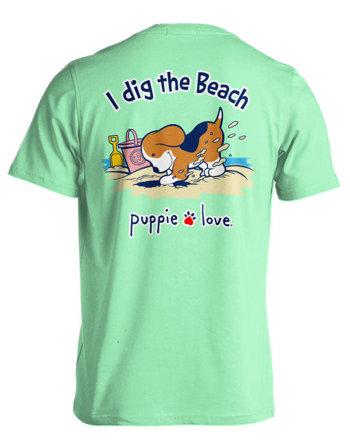 I Dig The Beach Pup By Puppie Love (Pre-Order 2 Weeks)