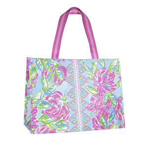 Lilly Pulitzer XL Market Shopper- Totally Blossom (Lead Time 2 Weeks)