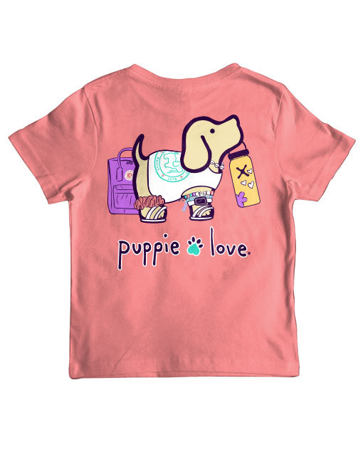 Youth Trendy Pup Short Sleeve By Puppie Love (Pre-Order 2-3 Weeks)