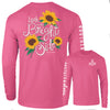Southernology - Look on the Bright Side Pink Long Sleeve (Lead Time 2 Weeks)