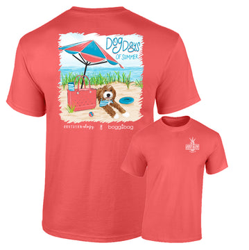 Southernology & Bogg Bag Exclusive Tee - Dog Days Of Summer Tee Shirt (Lead Time 2-3 Weeks)