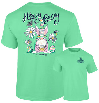 Southernology - Honey Bunny Gnome Tee Shirt (Lead Time 2 Weeks)