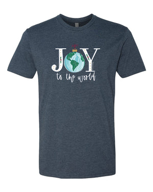 Southernology -Joy To The World Tee (Lead Time 2 Weeks)
