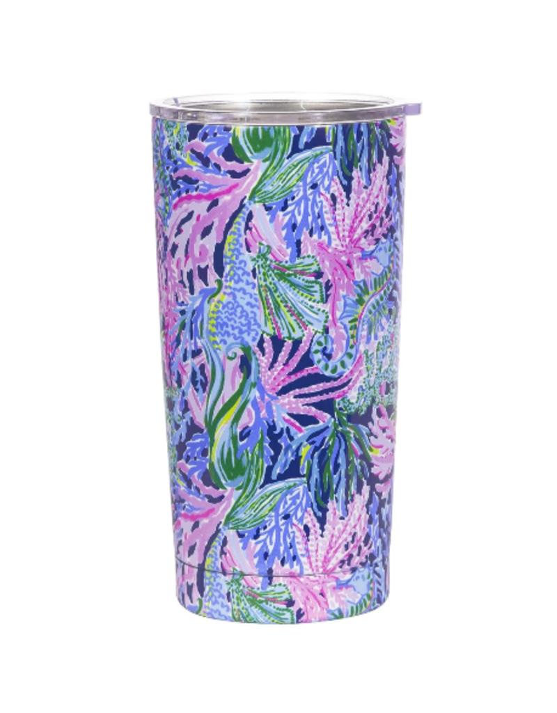 Lilly Pulitzer Stainless Steel Thermal Mug 20oz - Bringing Mermaid Back