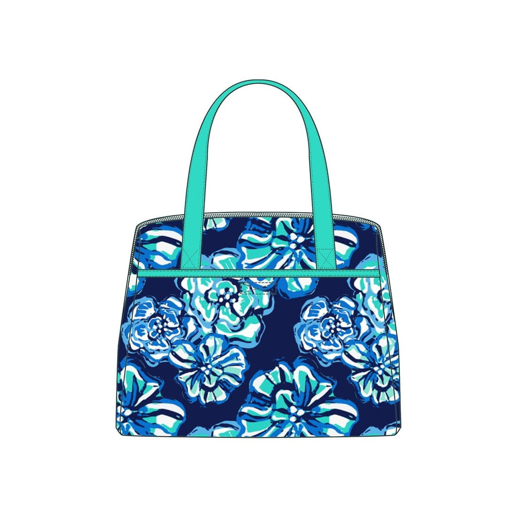 Maliblue Monogram Lunch Tote (Lead Time 2 Weeks)