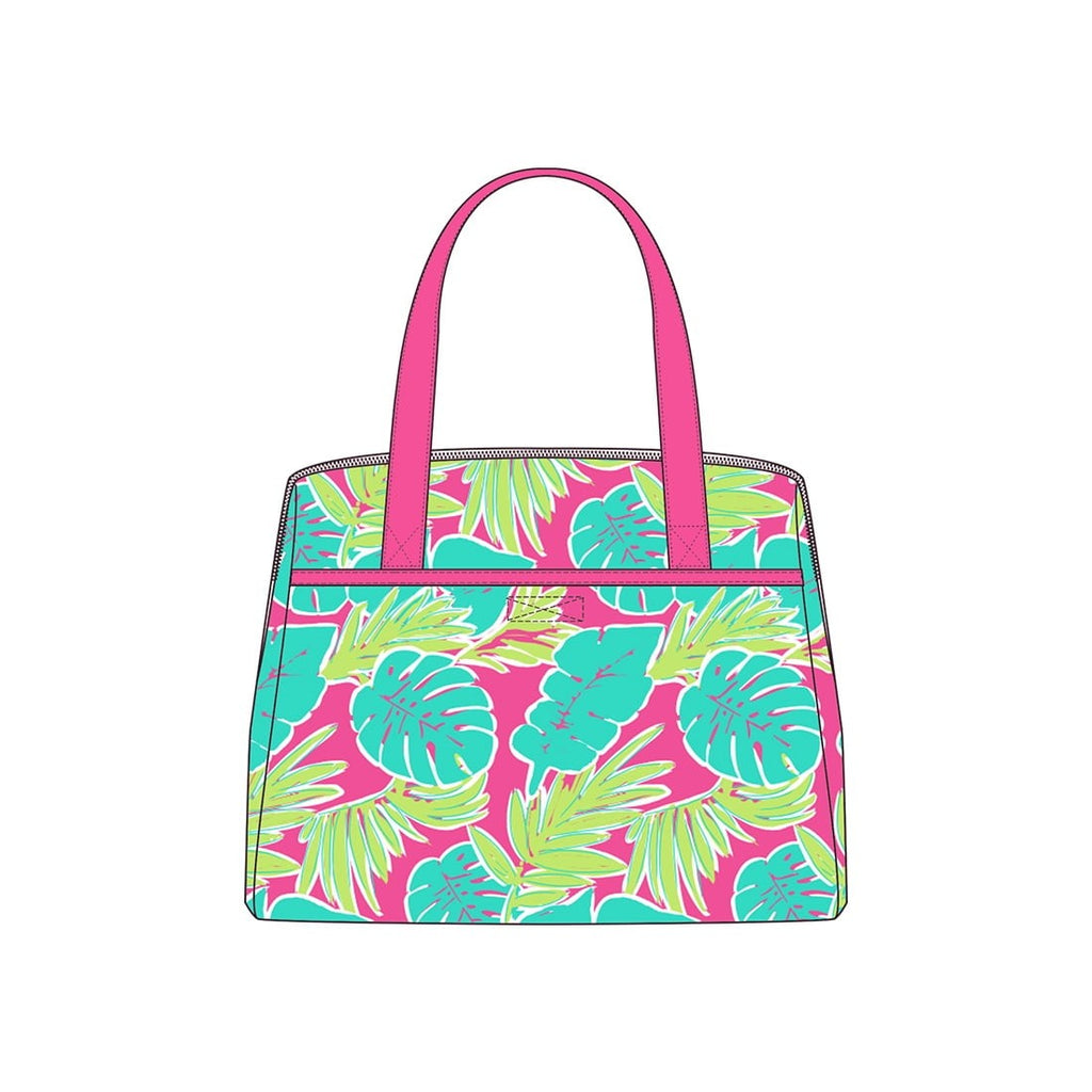 Totally Tropics Monogram Lunch Tote (Lead Time 2 Weeks)