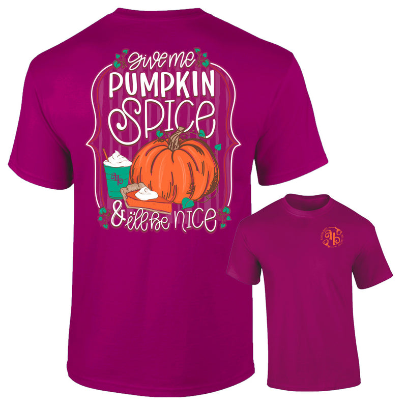Ashton Brye by Southernology - Pumpkin Spice Tee Shirt (Lead Time 2 Weeks)