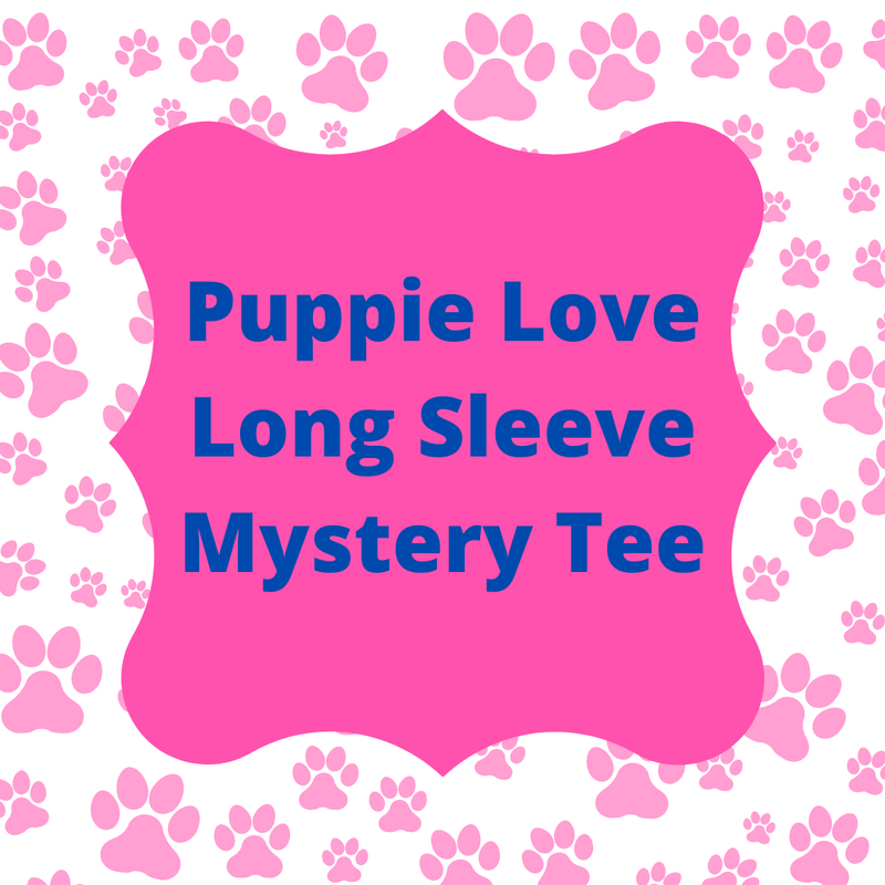 Puppie Love Mystery Tee -Long Sleeve