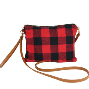Red Buffalo Crossbody Bag