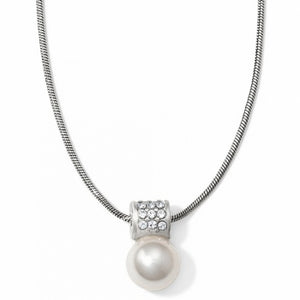 Meridian Petite Pearl Necklace by Brighton