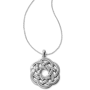 Interlok Eternity Circle Necklace by Brighton