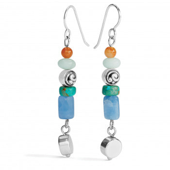 Contempo Chroma Drop French Wire Earrings by Brighton